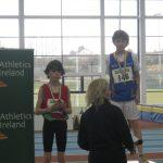 Cian McPhillips National Indoor Gold Medalist Under 12 Boys 600 meters