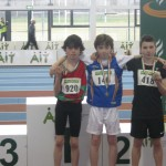 Cian McPhillips National Indoor Gold Medalist Under 12 Boys 600 meters 2nd Picture