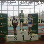 Daire McManus National Indoor Silver Medalist Under 12 Boys 60 meters