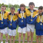 County Longford Winning Boys Cross Country Team 2013