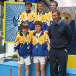 County Longford Winning Boys Cross Country Team 2013 Medal Presentation