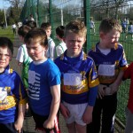 Dromard Boys get ready for the relay