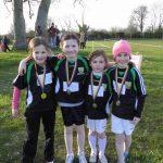 Winning Ardagh National Girls 2nd Class Relay Team