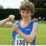 Cian McPhillips National Under 12 Boys 600 Meters Champion 2013