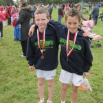 Cathal Farrell and Brendan Finnane Connaught Primary Schools Medalists