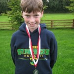 Cian Mc Phillips Connnach Primary Schools XC champions