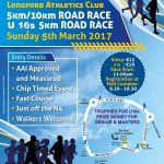 Longford Athletics 2016 road race flyer17