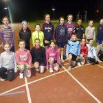 Longford AC Athletes at the Athlone Athletics trackJPG