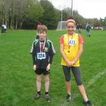 Longford AC Medalists Connaught Primary Schools Cross Country