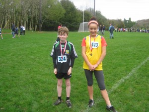 Longford AC Medallists Connaught Primary Schools Cross Country Championships 2011