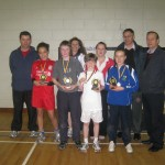 Longford AC Juvenile Award Winners 2011 with their coaches