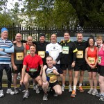 Longford AC athletes at Dublin City Marathon 2012
