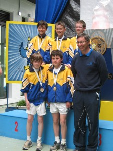 County Longford Winning Boys Cross Country Team 2013 Medal Presentation