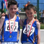 Brendan Finane & Adam Reilly Under 11 Boys Turbo Javelin Gold Medalist Pair