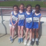 Under 10 4 X 100 meters bronze medalists Connaught Championships 2013