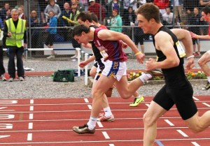 Thomas McGann Silver Medalist Junior Boys Irish Schools Championships