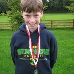 Cian Mc Phillips Connnach Primary Schools XC champions