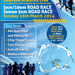 Longford AC 5K / 10K Road Race – 16 March 2014