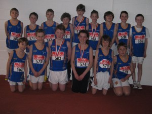 Longford AC had 28 Juvenile athletes U12-U18  that competed in the Connaught Indoor Championships at the AIT International Arena on March 1st, 2014. Many wearing the Longford vest for the 1st time in Provincial competition.