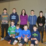 Longford AC Juveniles Outstanding Achievements 2014 Boys