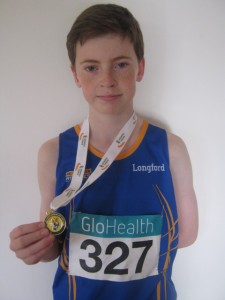 Cian McPhillips Gold 800m indoor, March 2015
