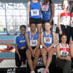 Longford-AC-U18-Girls-at-Connacht-T&F,-Feb-2018