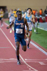 Nelvin competing in Kansas
